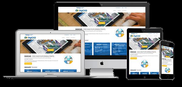 DigiCAD Website Design