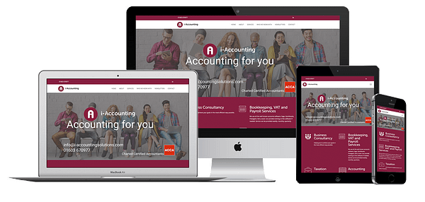 i-Accounting Website Design