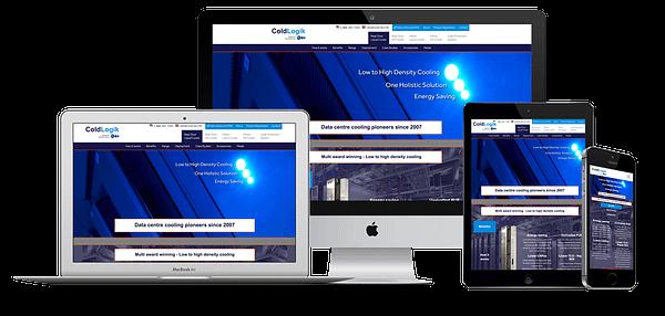 ColdLogik Website Design