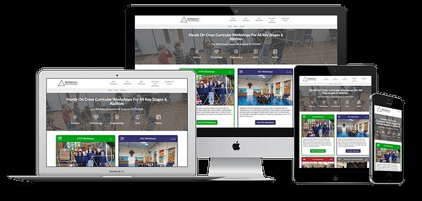 Architecture Workshops Website Design