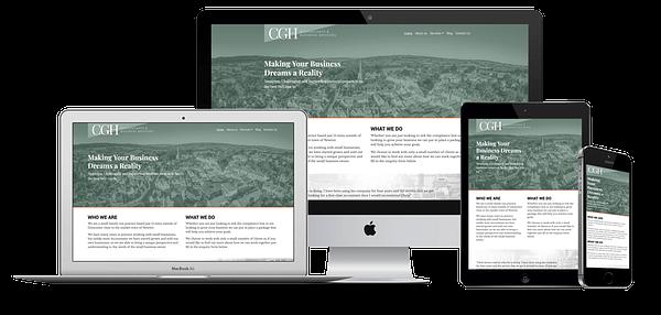 CGH Accountants Website Design
