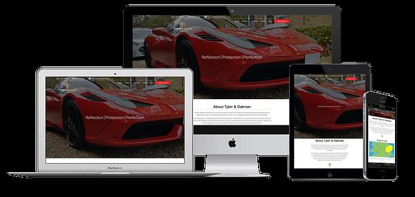 Tyler and Oakman Website Design