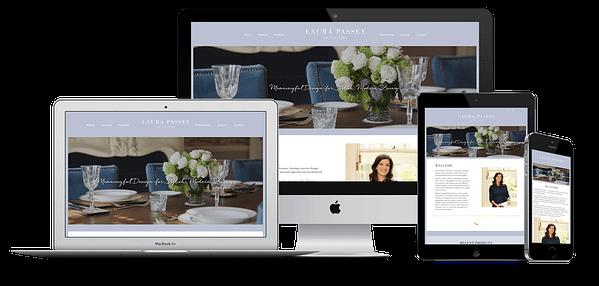Laura Passey Website Design
