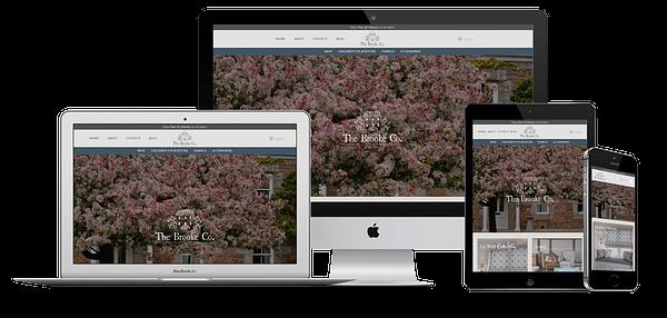 The Brooke Co. Website Design